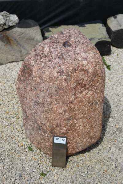 Quellstein Findling ca. 37x32x53cm