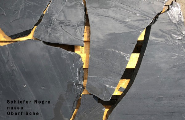 "Polygonalplatten Schiefer ""Negra"""