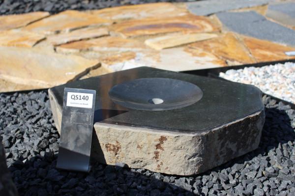 Quellstein aus Basalt ca. 45x40x8cm