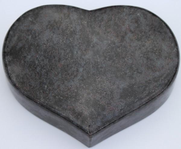 Grabstein Herz mit Wunschtext ca. 20 x 15 x 5 cm