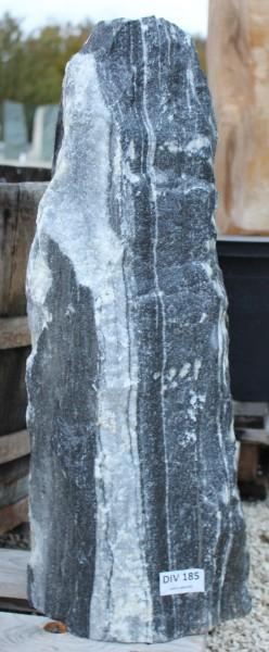 Zebra Monolith mit Bohrung ca.24x15x56 cm
