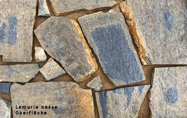 "Polygonalplatten Quarzit ""Lemuria"""