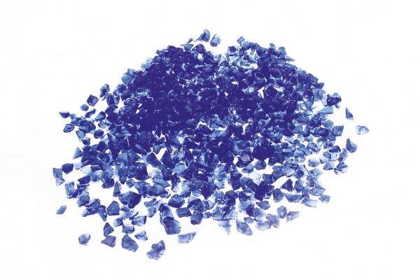 Glassplitt Blue Violet, 5-10
